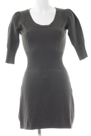 MNG Basics Stretchkleid dunkelgrün schlichter Stil