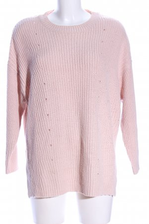 MNG Basics Strickpullover pink Casual-Look