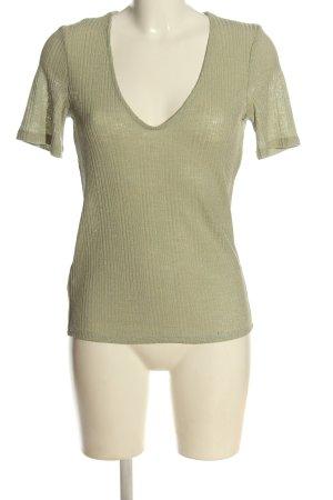 MNG Basics Strickshirt khaki Casual-Look