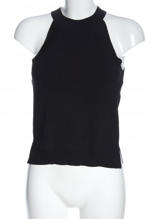 MNG Basics Gebreide top zwart casual uitstraling