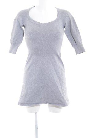 MNG Basics Sweatkleid hellgrau Casual-Look