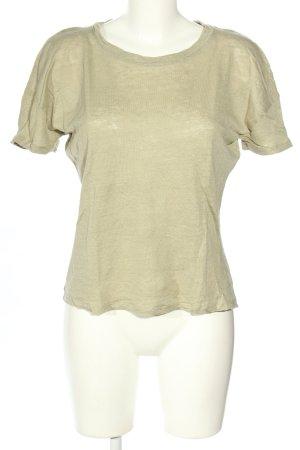 MNG Basics T-Shirt khaki meliert Casual-Look