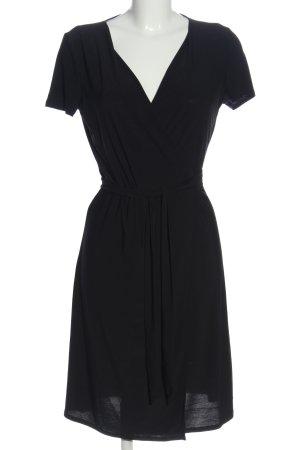 MNG Basics Robe portefeuille noir style décontracté