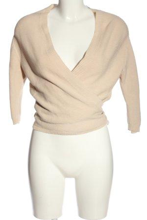 MNG Basics Wraparound Shirt cream casual look