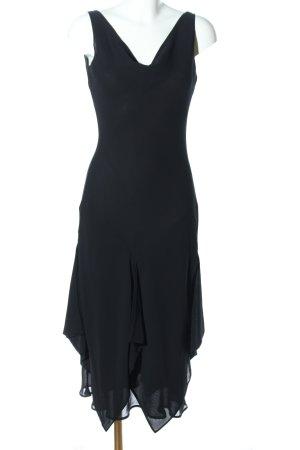 MNG Blusenkleid schwarz Elegant