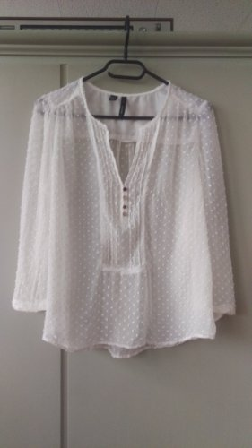 MNG Collection Slip-over Blouse white