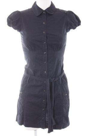 MNG Blusenkleid dunkelblau Casual-Look