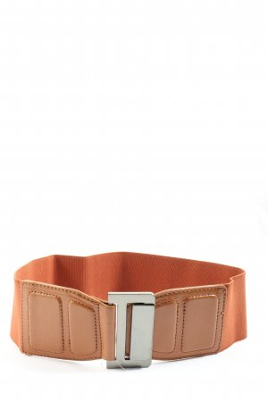 MNG Canvas Belt light orange casual look