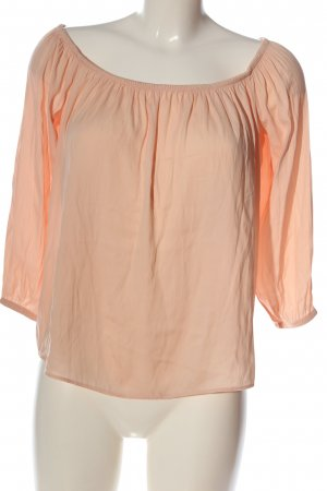 MNG Carmen-Bluse nude Casual-Look