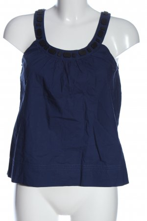 MNG Casual Sportswear Sleeveless Blouse blue casual look