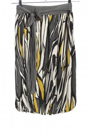 MNG Casual Sportswear Falda globo estampado con diseño abstracto look casual