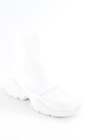 MNG Casual Sportswear High Top Sneaker weiß Casual-Look