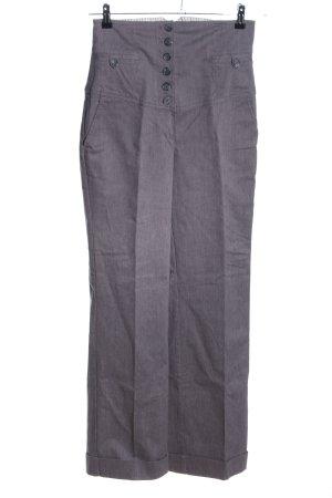 MNG Casual Sportswear Pantalon taille haute gris clair moucheté