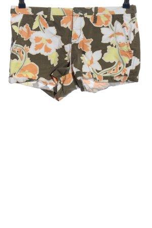 MNG Casual Sportswear Hot Pants Blumenmuster Casual-Look