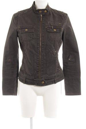MNG Casual Sportswear Jeansjacke graubraun Casual-Look