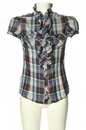 MNG Casual Sportswear Short Sleeved Blouse allover print casual look