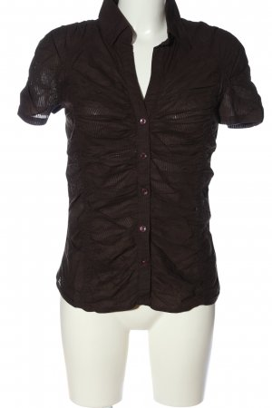 MNG Casual Sportswear Short Sleeved Blouse brown casual look