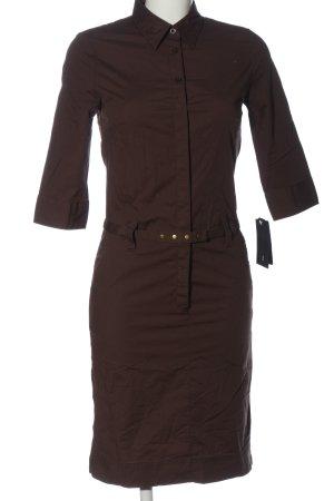 MNG Casual Sportswear Kurzarmkleid braun Casual-Look