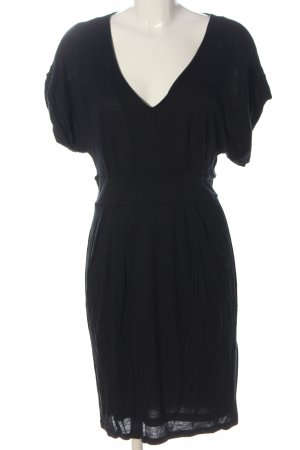 MNG Casual Sportswear Kurzarmkleid schwarz Casual-Look