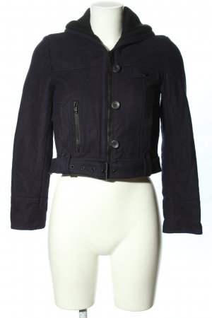 MNG Casual Sportswear Kurzjacke blau Casual-Look