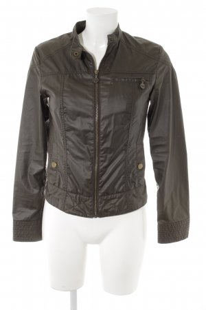 MNG Casual Sportswear Kurzjacke grüngrau Casual-Look