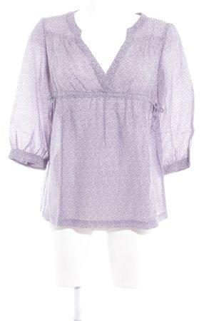 MNG Casual Sportswear Long Sleeve Blouse purple elegant