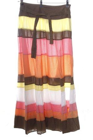 MNG Casual Sportswear Maxirock Streifenmuster Street-Fashion-Look