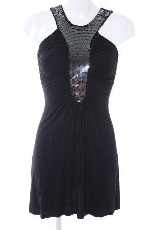 MNG Casual Sportswear Pailettenkleid schwarz Party-Look