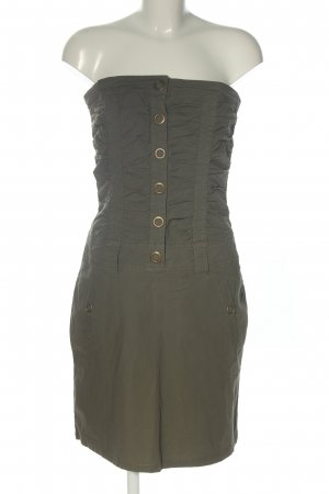 MNG Casual Sportswear schulterfreies Kleid khaki Casual-Look