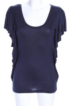 MNG Casual Sportswear Shirttunika blau Casual-Look