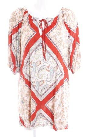 MNG Casual Sportswear Shirttunika florales Muster Casual-Look
