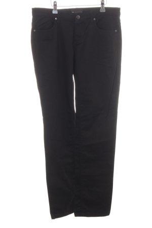 MNG Casual Sportswear Straight-Leg Jeans schwarz Casual-Look