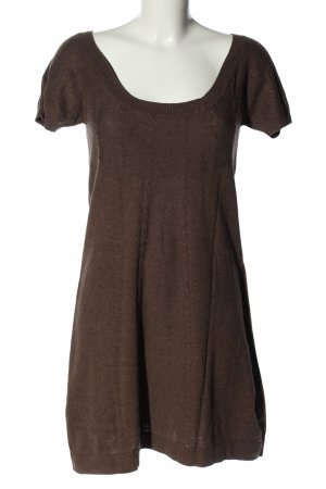 MNG Casual Sportswear Strickkleid braun Casual-Look