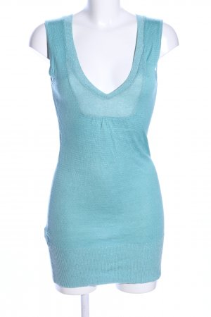 MNG Casual Sportswear T-shirts en mailles tricotées turquoise