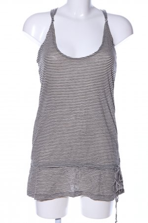 MNG Casual Sportswear Tunic black-white striped pattern casual look