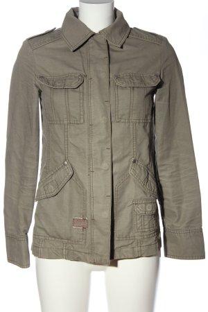 MNG Casual Sportswear Übergangsjacke bronzefarben meliert Casual-Look