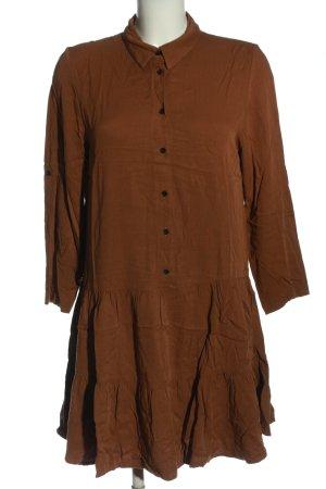 MNG Casual wear Blusenkleid braun Business-Look