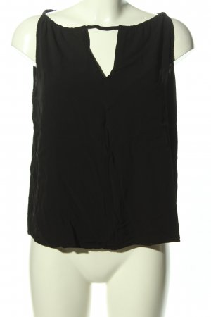 MNG Casual wear Blusentop schwarz Casual-Look