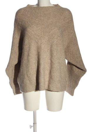 MNG Casual wear Sweter z grubej dzianiny brązowy W stylu casual