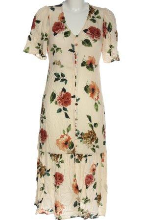 MNG Casual wear Hemdblusenkleid Allover-Druck Casual-Look