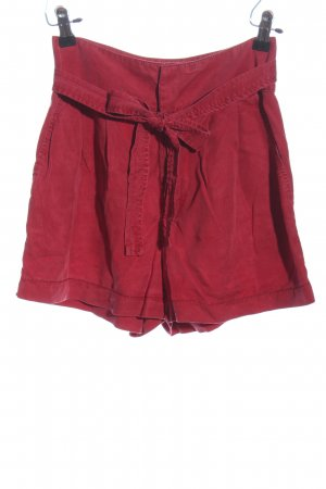 MNG Casual wear High-Waist-Shorts rot Casual-Look