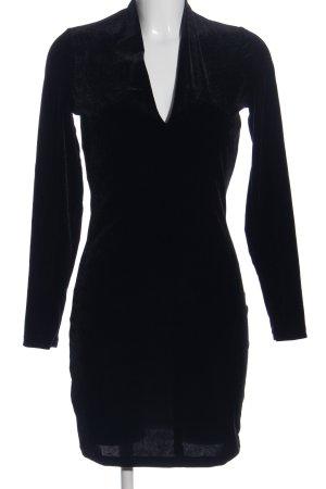 MNG Casual wear Langarmkleid schwarz Casual-Look