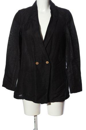 MNG Casual wear Long-Blazer schwarz Casual-Look