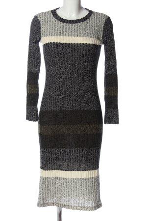 MNG Casual wear Sweaterjurk gestreept patroon casual uitstraling