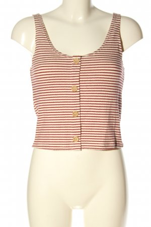 MNG Casual wear Knitted Top brown-natural white striped pattern casual look