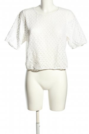 MNG Casual wear T-Shirt weiß Casual-Look
