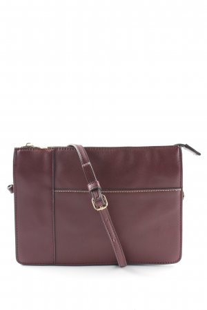 MNG Clutch bordeauxrot Casual-Look