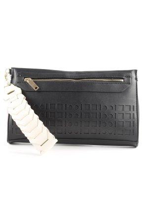 MNG Clutch schwarz-creme Elegant