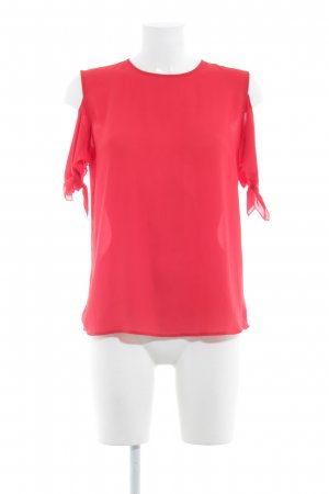 MNG Collection ärmellose Bluse rot Elegant