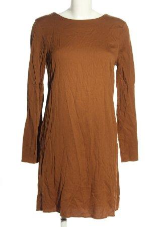 MNG Collection Vestido camisero marrón look casual